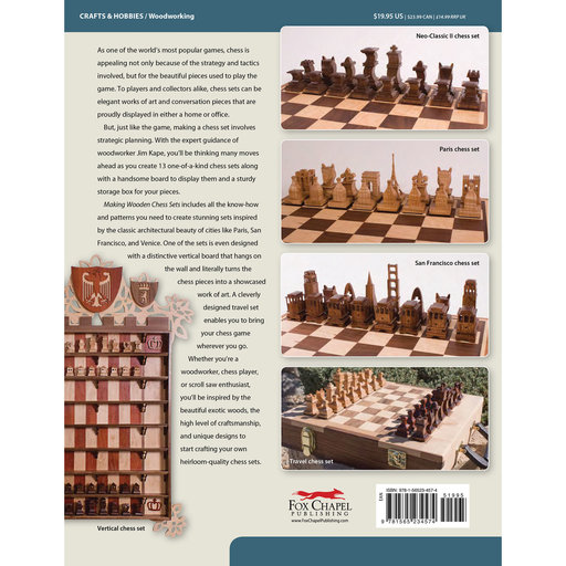 View a Larger Image of Making Wooden Chess Sets