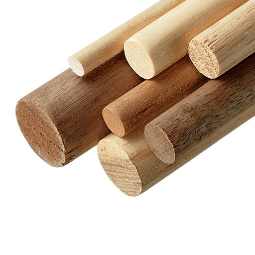 """View a Larger Image of Maple 7/8"""" x 36"""" Round Wood Dowel"""