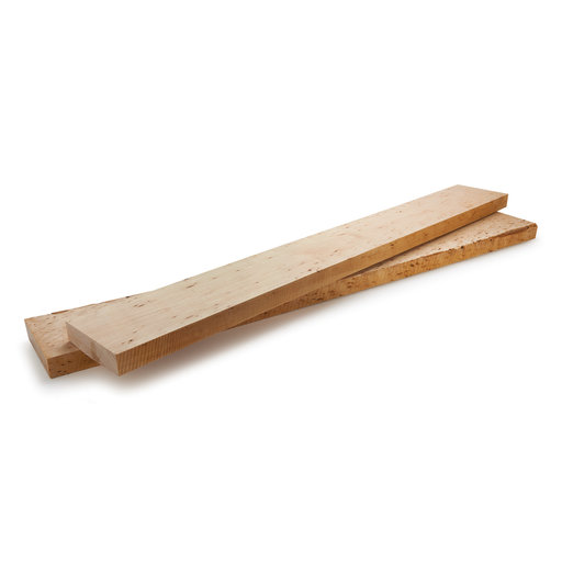 """View a Larger Image of Maple, Hard w/Bark Inclusion 1-1/2"""" x 7"""" - 10"""" Wide x 46"""" - 48"""" Long Dimensioned Wood"""