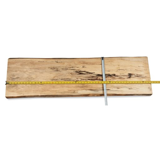 """View a Larger Image of Maple, Spalted Slab 50-1/2"""" x 15"""" x 1-1/2"""""""