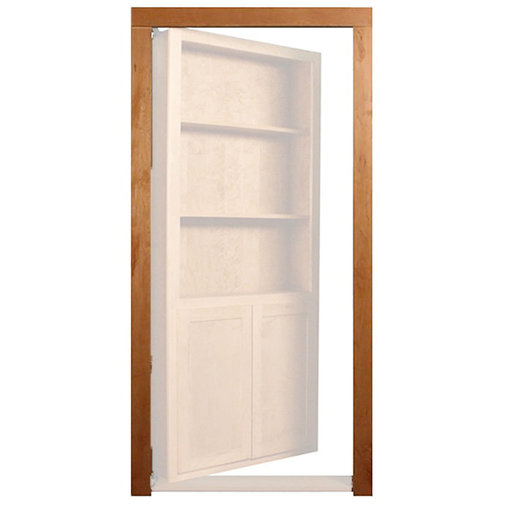 View a Larger Image of Maple Trim Molding Accessory for 32 in. or 36 in. InvisiDoor Bookcase Door