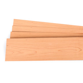 """Maple Wood Veneer - 1/16"""" Thick x 4-1/2"""" to 7-1/2"""" Width - 3 Square Foot Pack"""