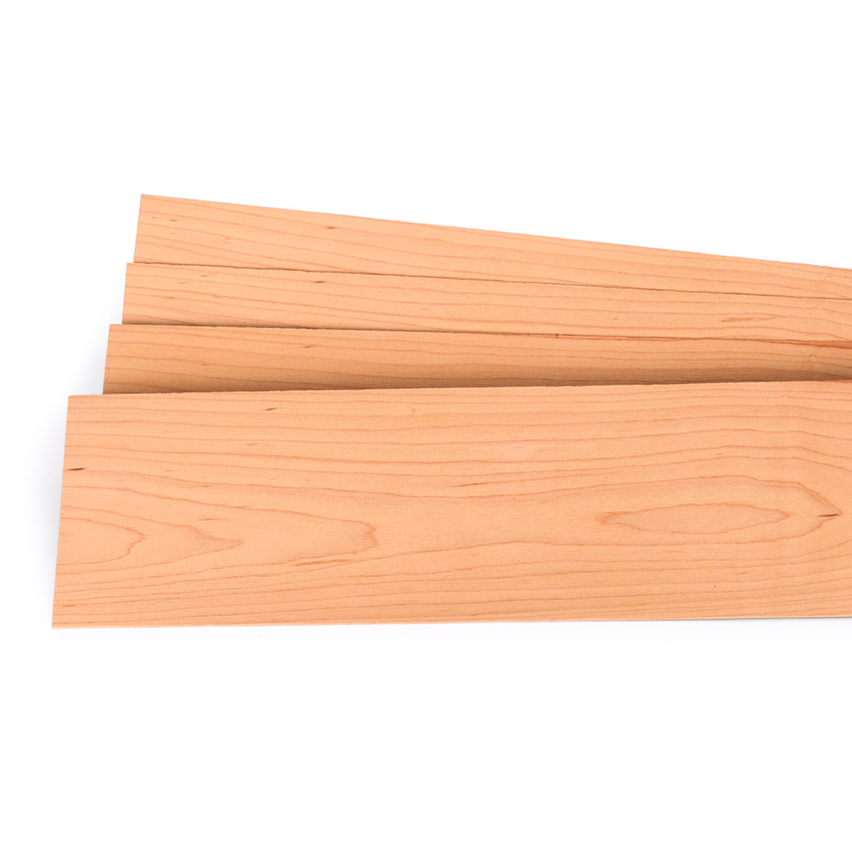 """View a Larger Image of Maple Wood Veneer - 1/16"""" Thick x 4-1/2"""" to 7-1/2"""" Width - 3 Square Foot Pack"""