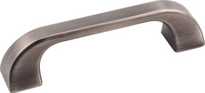 Marlo Pull, 96 mm C/C, Brushed Pewter