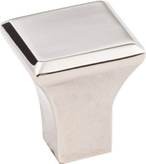 """View a Larger Image of Marlo Small Knob, 7/8"""" O.L., Polished Nickel"""