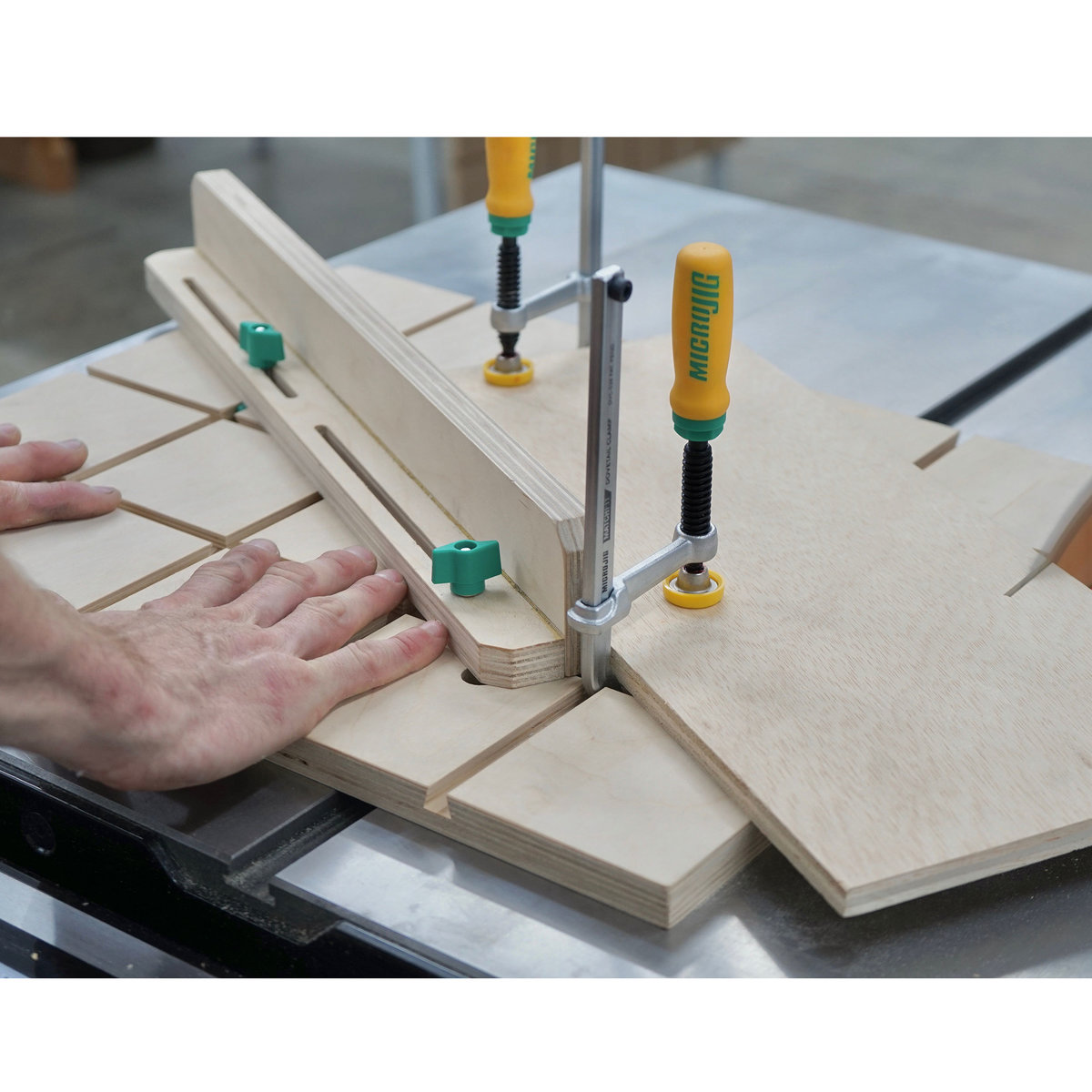 View a Larger Image of MATCHFIT Dovetail Fixture and Jig Clamps - 2 Piece