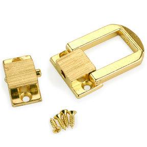 """Medium Box Catch Brass 1"""" x 1-1/4"""" 1 pc"""