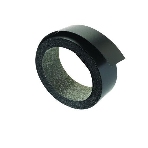 "View a Larger Image of Melamine, Black 2"" x 25' Pre-glued Edge Banding"