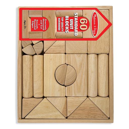 View a Larger Image of Standard Unit Blocks, 60-Piece