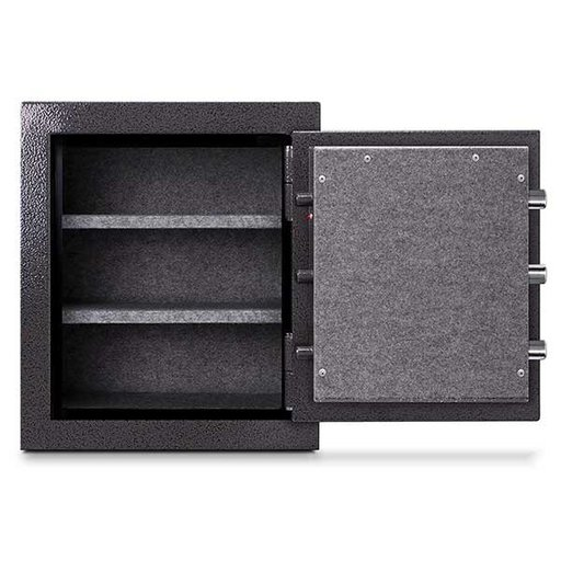View a Larger Image of Mesa Burglary and Fire Safe with Combination Lock, 4.1 cu.ft. , Hammered Grey, Model MBF2620C
