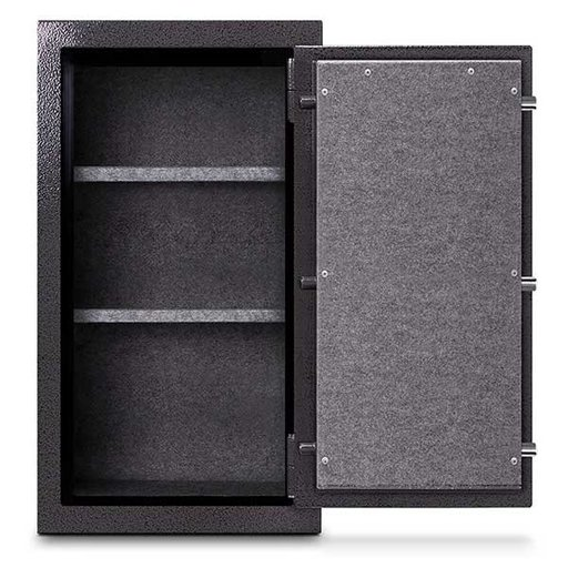 View a Larger Image of Mesa Burglary and Fire Safe with Combination Lock, 6.4 cu.ft. , Hammered Grey, Model MBF3820C