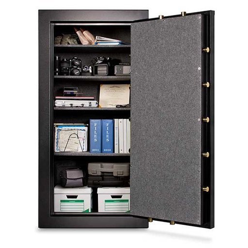 View a Larger Image of Mesa Burglary and Fire Safe with Electronic Lock, 22.9 cu.ft., Black, Model MBF7236E-P