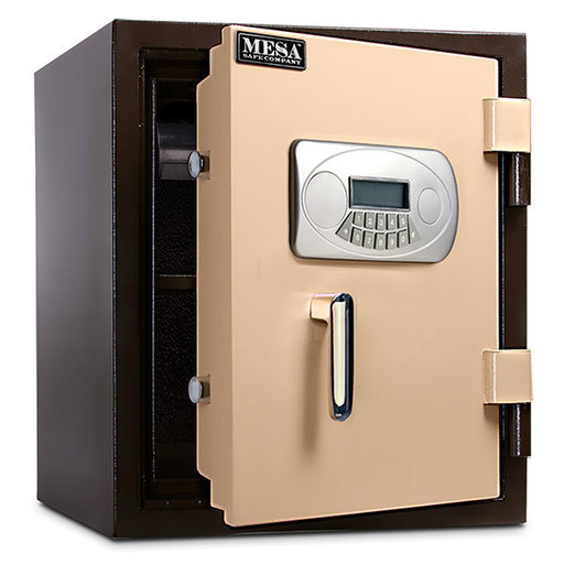 View a Larger Image of Mesa Fire Safe with Electronic Lock and Interior Light, 1.3 cu. ft., Black and Gray, Model MF53E