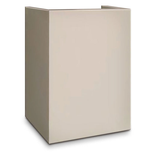View a Larger Image of Mesa Hotel/Residential Pedestal for MH101 Safe, Cream, Model  MP101