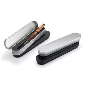 Metal Pen Boxes - Black & Gray - 4 pc.