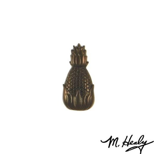 View a Larger Image of Hospitality Pineapple Door Bell Ringer, Oiled Bronze