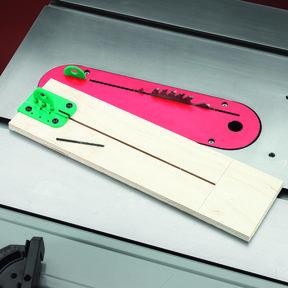 """1/8"""" Kerf Standard MJ Splitter Kit Green"""