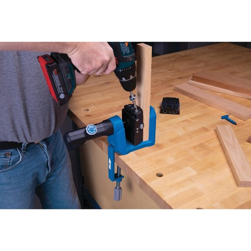 View a Larger Image of Micro-Pocket Drill Guide Kit For 500-Series Pocket-Hole Jig