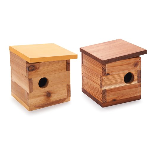 View a Larger Image of Mid Century Modern Birdhouse Kit