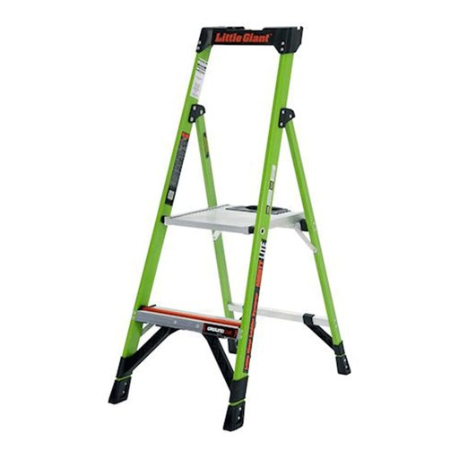 View a Larger Image of MightyLite Model 4 Stepladder 300 lbs. Capacity