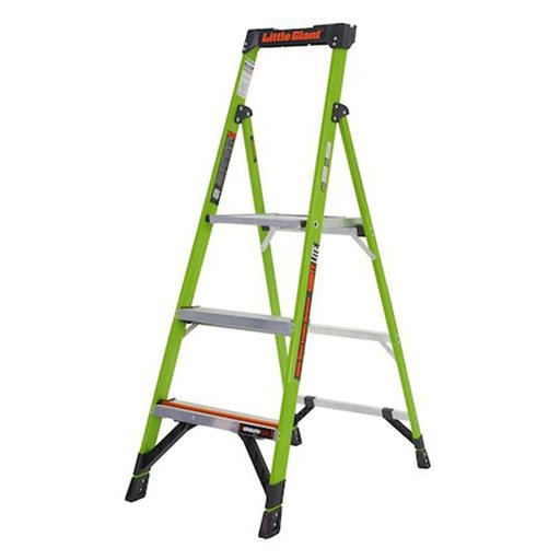 View a Larger Image of MightyLite Model 5 Stepladder 300 lbs. Capacity