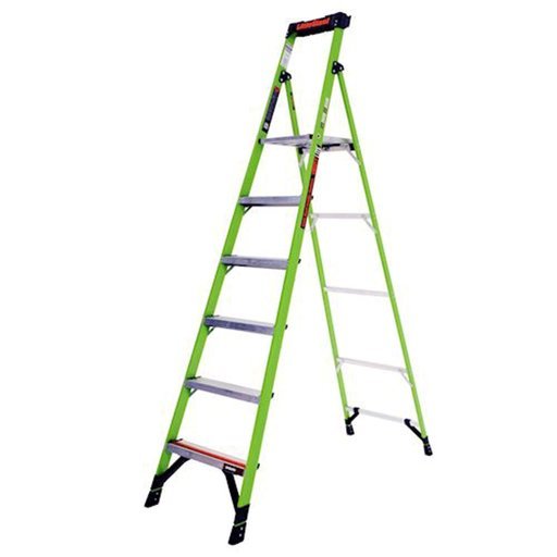 View a Larger Image of MightLite Model 8 Stepladder 375 lbs. Capacity