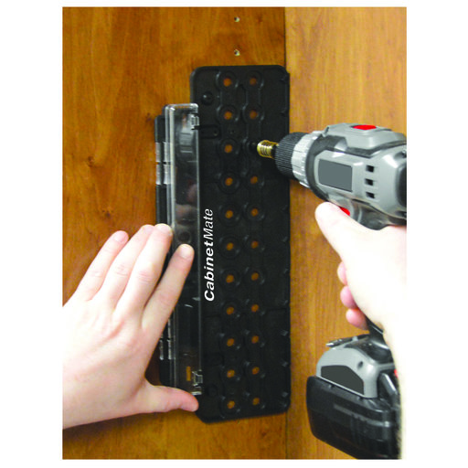 """View a Larger Image of CabinetMate Drilling Template With 1/4"""" Guided Drill Bit"""