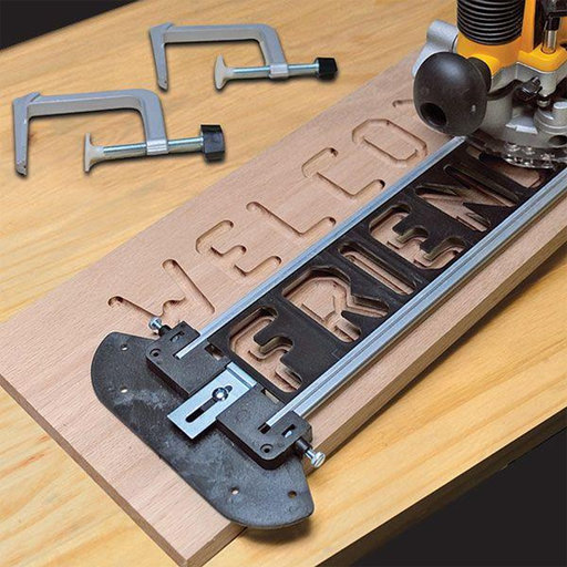View a Larger Image of TurnLock SignCrafter Sign Making Jig