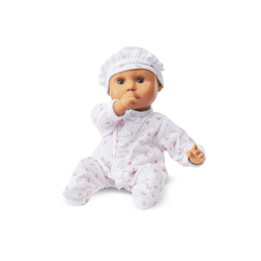 View a Larger Image of Mine to Love Mariana 12-Inch Baby Doll, Romper and Hat Included, Wipe-Clean Arms & Legs