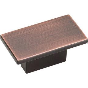 "Mirada Knob, 1-9/16"" O.L.,, Brushed Oil Rubbed Bronze"