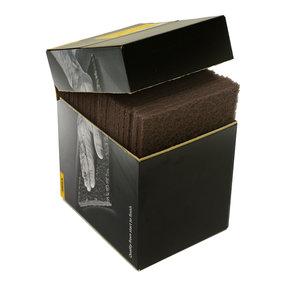 """Mirlon 6"""" x 9"""" Scuff Pad (Gray), 1500 Grit , 20/box"""