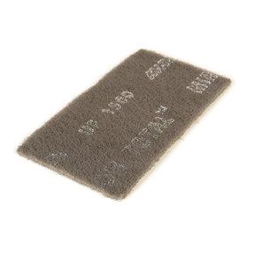 """Mirlon Total 4-1/2"""" x 9"""" Ultra Fine Scuff Pad (Gray), , 25 pads"""