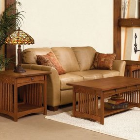 Mission Coffee and End Table - Downloadable Plan