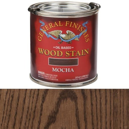 View a Larger Image of Mocha Oil Stain 1/2 Pt