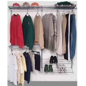 Modular Closet, Garage, and Laundry Organizer Kit
