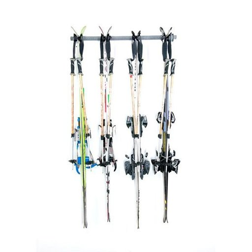 View a Larger Image of Four Ski Storage Rack