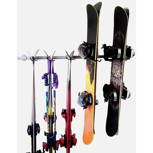 View a Larger Image of Ski and Snowboard Storage Rack