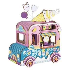 Moving Flavor Ice Cream Truck Music Box