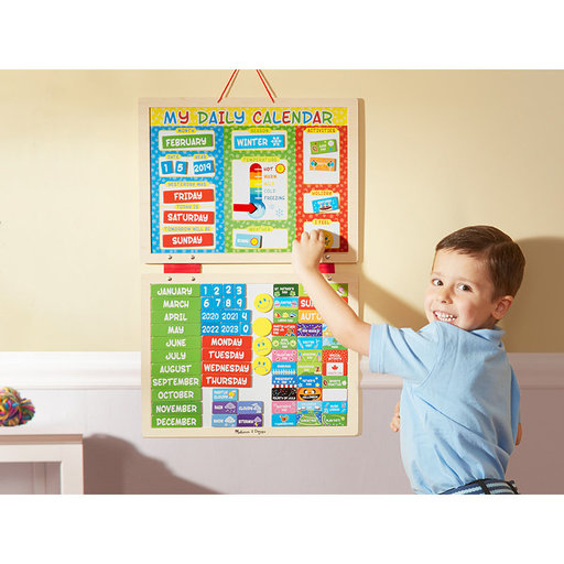 View a Larger Image of My First Daily Magnetic Calendar