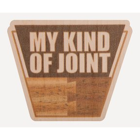 My Kind of Joint Maple Sticker