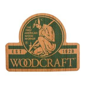 Native American Woodworker Cherry Sticker