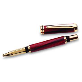 Navigator Screw Cap Rollerball Pen Kit - Cobalt Gold