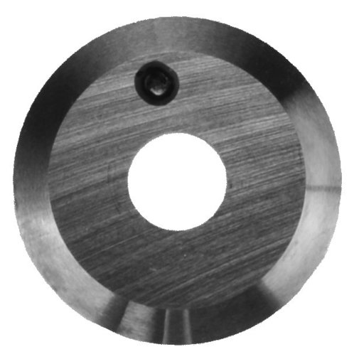 View a Larger Image of Negative Rake Round Carbide Insert Cutter only for 70-800 Turning System