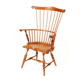 New England Comb Back Arm Chair Kit