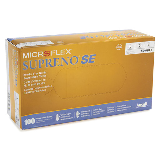 View a Larger Image of Nitrile Gloves 5.5mil L (100)