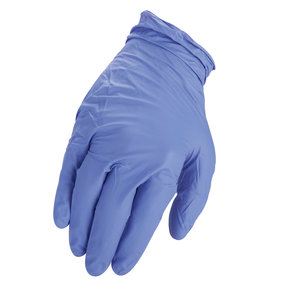 Nitrile Gloves 5.5mil M (100)