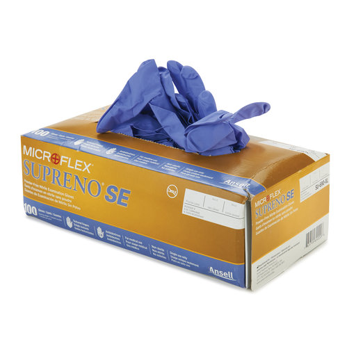 View a Larger Image of Nitrile Gloves 5.5mil XL (100)
