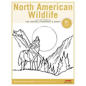 North American Wildlife Carving Patterns Pack