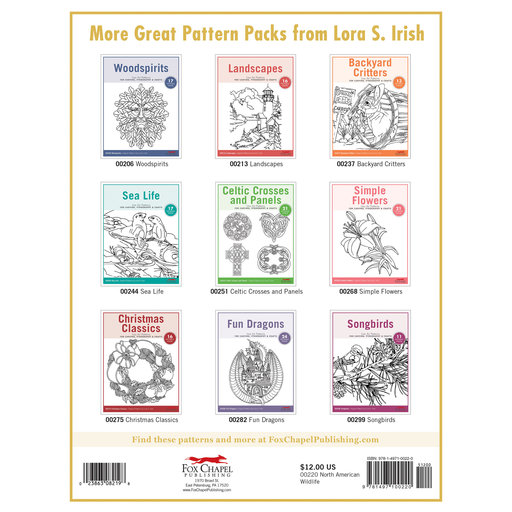 View a Larger Image of North American Wildlife Carving Patterns Pack
