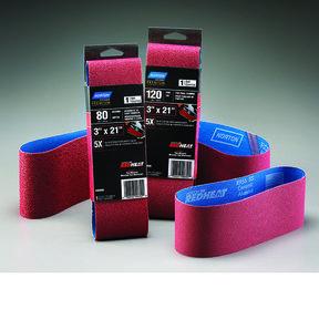 "6"" x 48"" Redheat Ceramic Sanding Belt 80 Grit"
